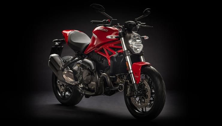 אופנוע כביש מונסטר 821