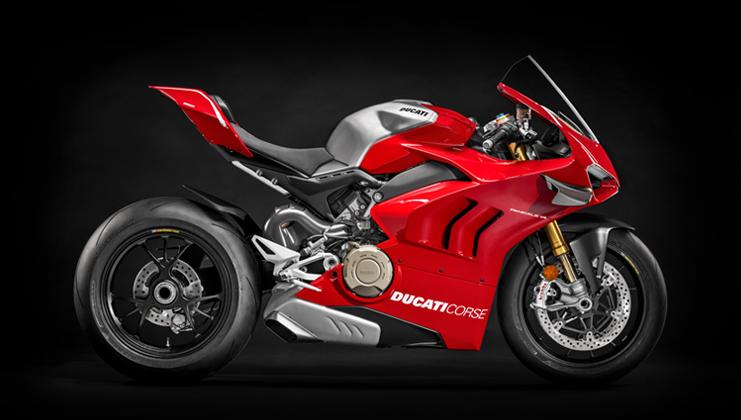 אופנוע כביש פניגאלה V4 R